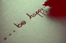 Abitudine alla Felicita'…